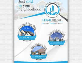 "nº 20 pour Design ""Just Sold"" Mailer Template for Real Estate Agent par cr8iveguru"