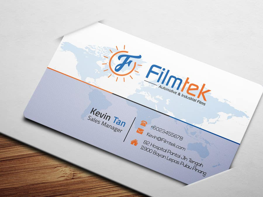 Proposition n°170 du concours Design some Business Cards For Automotive and Instrial Film COmpany