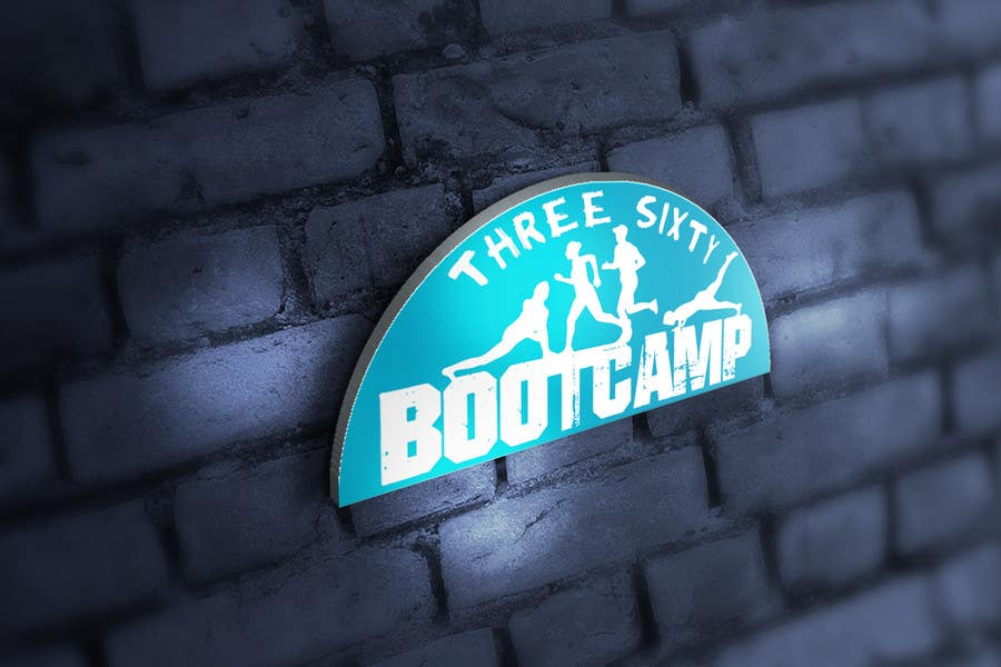 Proposition n°38 du concours Three sixty bootcamp logo re-design