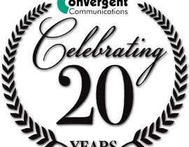 nº 1 pour Design a 20Year service logo par aadeeali