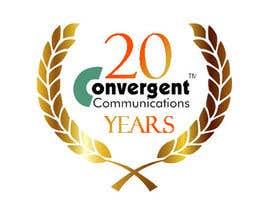 nº 12 pour Design a 20Year service logo par miqueas97