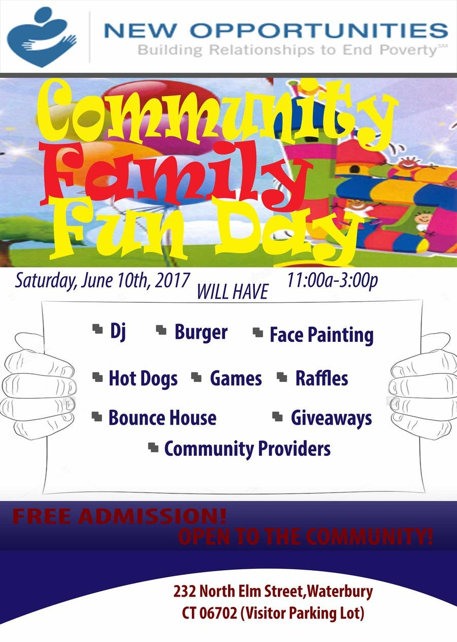 Contest Entry #5 for Design a Flyer for a Community Fun Day!