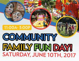 #23 for Design a Flyer for a Community Fun Day! by maidang34
