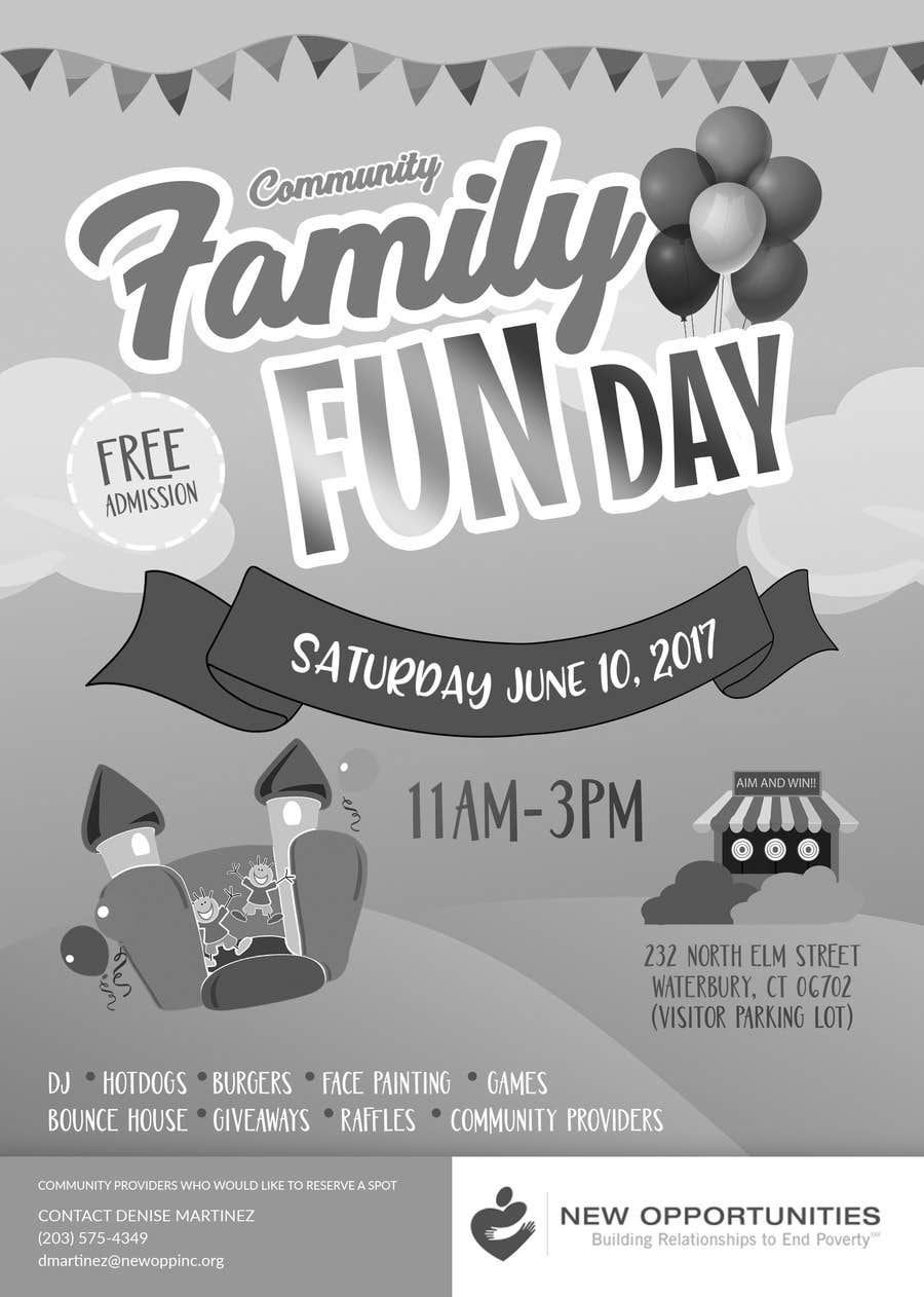 Contest Entry #8 for Design a Flyer for a Community Fun Day!