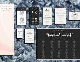 #14 for Design a modern Wedding invitation template set by zahra0501