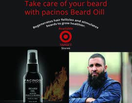 nº 52 pour Banner for beard product par nazimkhan1994