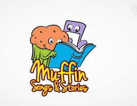 #58 untuk Logo Design for Muffin Songs & Stories oleh Ferrignoadv