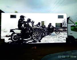 nº 8 pour Разработка оформления для грузовика мотокроссменов par anastasiyaodessa