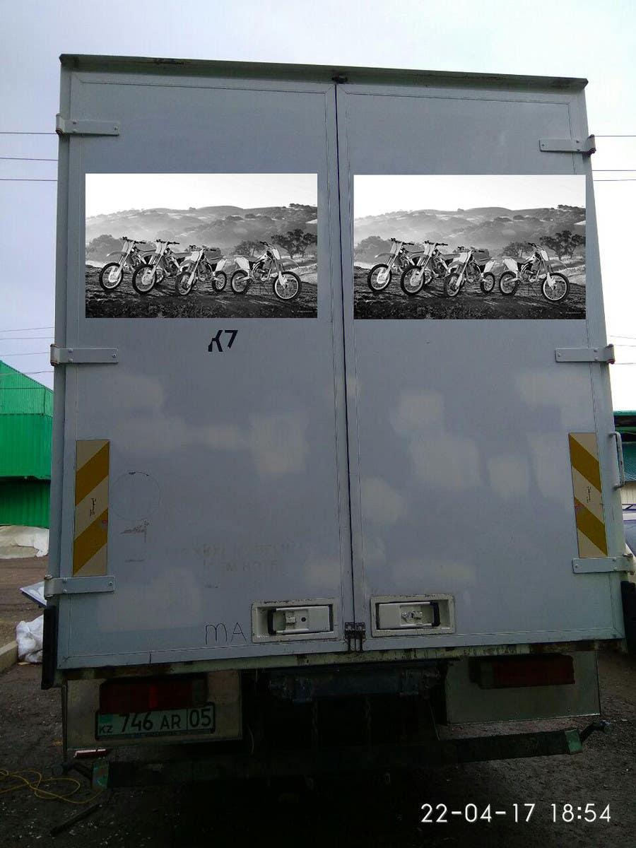Proposition n°14 du concours Разработка оформления для грузовика мотокроссменов