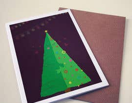 #6 for Develop 16 new magical Christmas Cards with snowflakes by farfalli