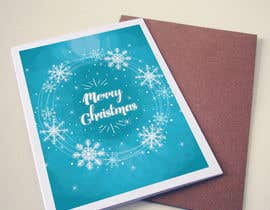 #9 for Develop 16 new magical Christmas Cards with snowflakes by farfalli