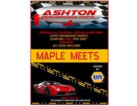 Nro 28 kilpailuun Design a Flyer for car show käyttäjältä Arifuzzaman58