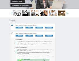 #10 untuk Web Page for a Conference oleh amitwebdesigner