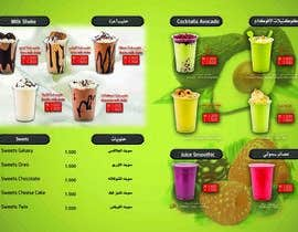 nº 1 pour Design A juice bar menu. Arabic Understanding required par ariamul123
