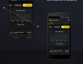 #12 for 7.500 EUR - Design 100 App Mockups for Banking APP (50 Iphone and 50 Android) by leonby27