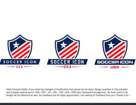 #357 for Design a Logo - Soccer Icon USA by zuhaibamarkhand