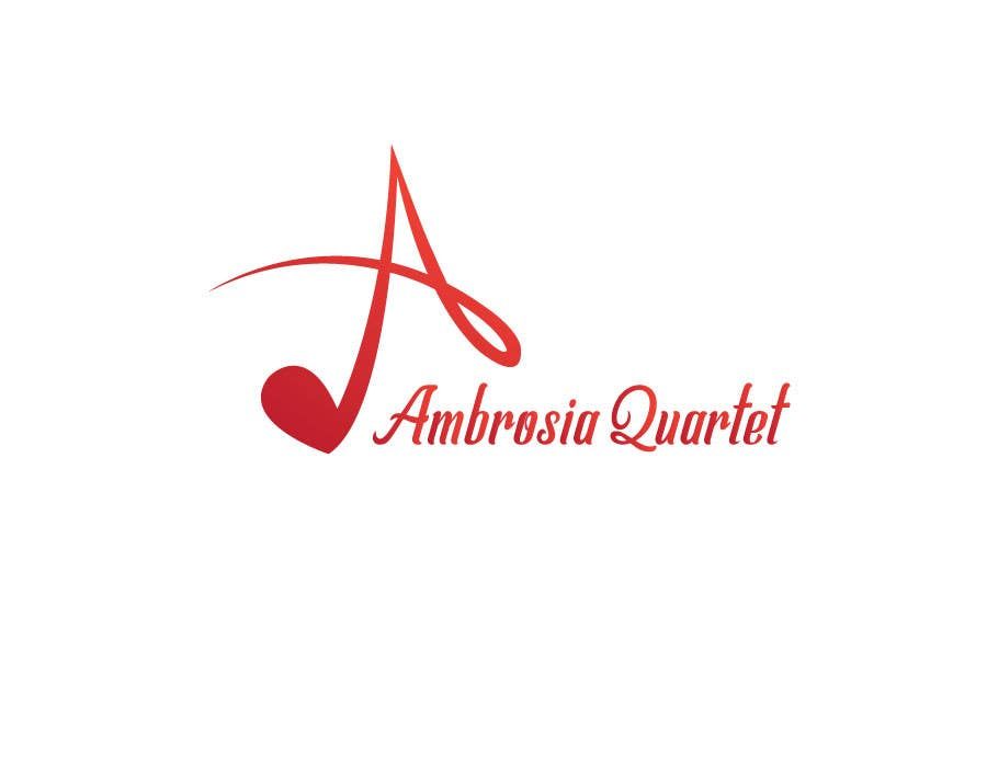 Contest Entry #48 for Ambrosia Quartet classical music logo
