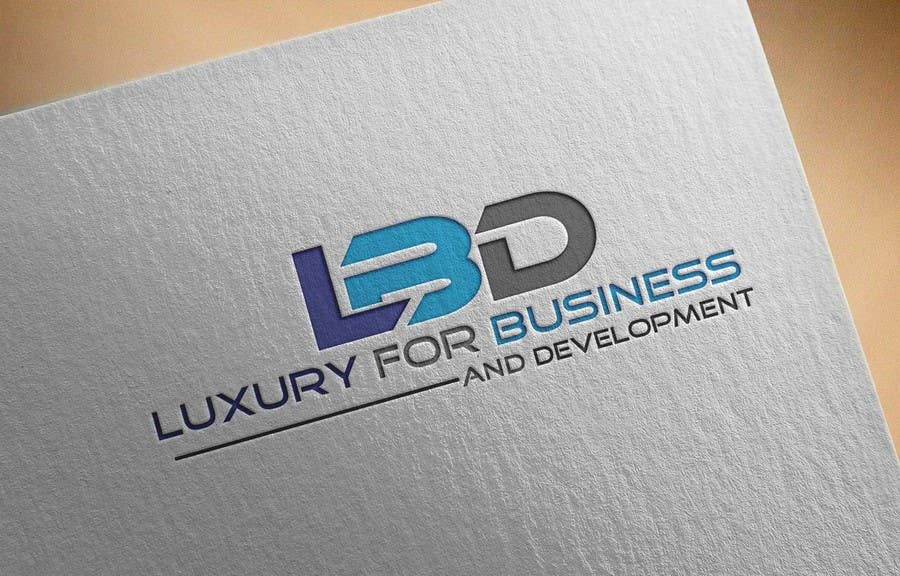 Proposition n°290 du concours Logo for ( Luxury for Business and Development  )
