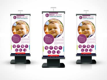 #30 for Design  a retractable banner for exhibition. by rajputdesigns