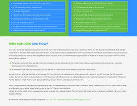 Nro 8 kilpailuun NonProfit Credit Union Website käyttäjältä Poornah