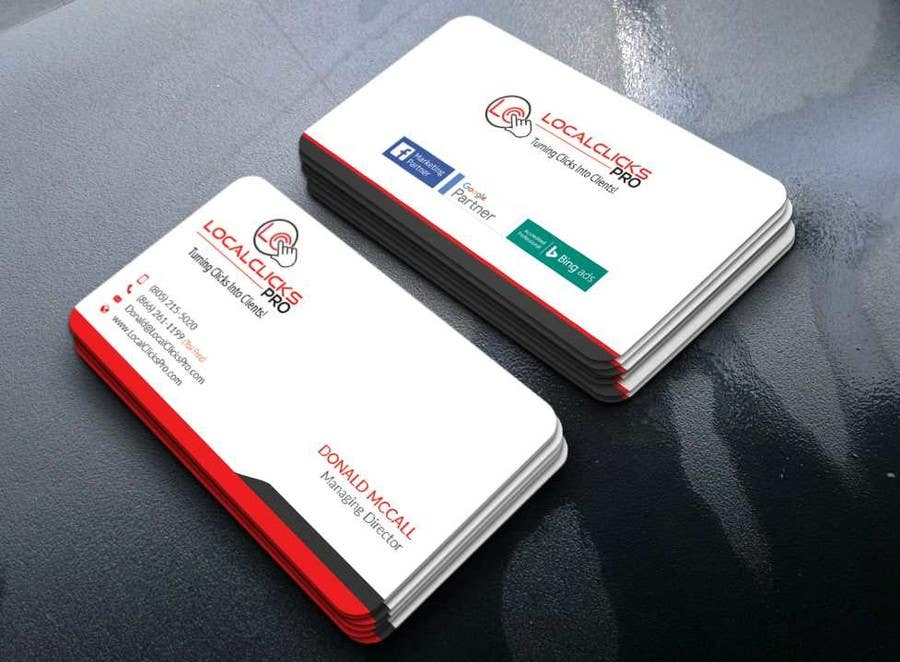 Proposition n°2 du concours Business Cards Creation