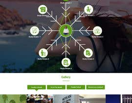 nº 8 pour Design a Website Mockup par ravinderss2014