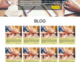 nº 9 pour Design a Website Mockup par jhgdyuhk