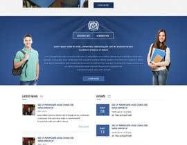 nº 67 pour Design a Website Mockup for International School par webidea12