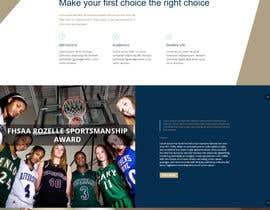 nº 7 pour Design a Website Mockup for International School par tejgeorge