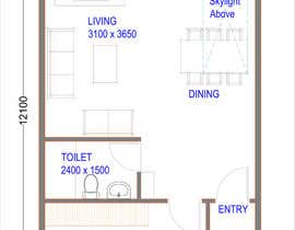 #3 for Interior design using floorplan by MeenalGupta09