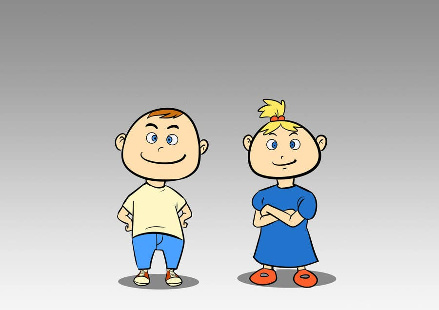 Proposition n°39 du concours Create an adorable cartoon characters