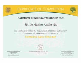 Nro 4 kilpailuun Certificate Template käyttäjältä jhonfrie