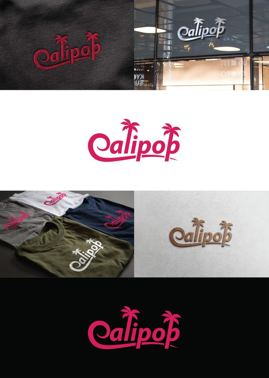 Contest Entry #693 for Logo design for cool new women's apparel company; CaliPop