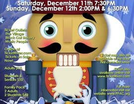 #2 для Graphic Design for TicketPrinting.com HOLIDAY NUTCRACKER POSTER & EVENT TICKET от richhwalsh