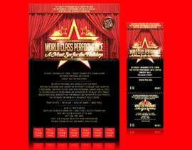 #6 для Graphic Design for TicketPrinting.com HOLIDAY NUTCRACKER POSTER & EVENT TICKET от thuanbui