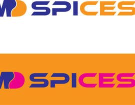 "nº 45 pour LOGO FOR INDIAN SPICE SHOP ""MD SPICES"" par AleeStudio"