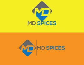 "nº 42 pour LOGO FOR INDIAN SPICE SHOP ""MD SPICES"" par sumandebnath0162"