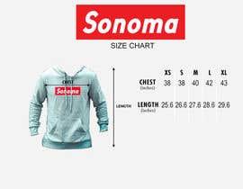 nº 1 pour Design Clothing Size Chart par athakur24