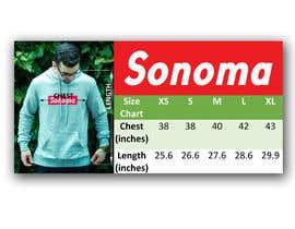 nº 2 pour Design Clothing Size Chart par mukesh7771