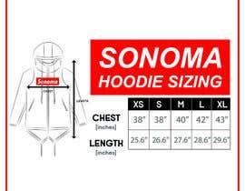 nº 6 pour Design Clothing Size Chart par fadhilsalimi