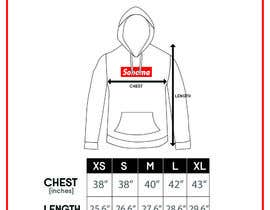 nº 9 pour Design Clothing Size Chart par fadhilsalimi