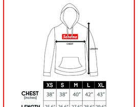 #10 for Design Clothing Size Chart by fadhilsalimi