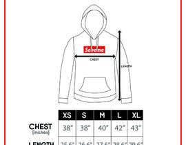nº 10 pour Design Clothing Size Chart par fadhilsalimi