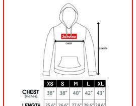 nº 15 pour Design Clothing Size Chart par fadhilsalimi