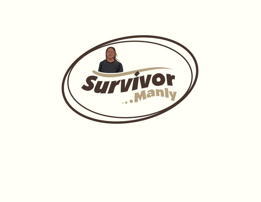 "Proposition n°7 du concours Logo with cartoon version of pic , for ""Survivor Manly"""