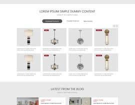 Nro 2 kilpailuun Design a Website mockup käyttäjältä sudpixel