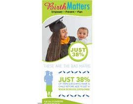 nº 36 pour Design a Brochure - BirthMatters ROI Bookmark par fabulista