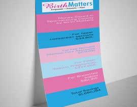 nº 40 pour Design a Brochure - BirthMatters ROI Bookmark par sinthianafisa22