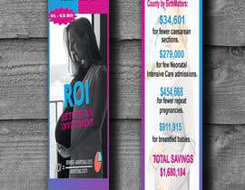 #12 for Design a Brochure - BirthMatters ROI Bookmark by sidahmedlasbeur