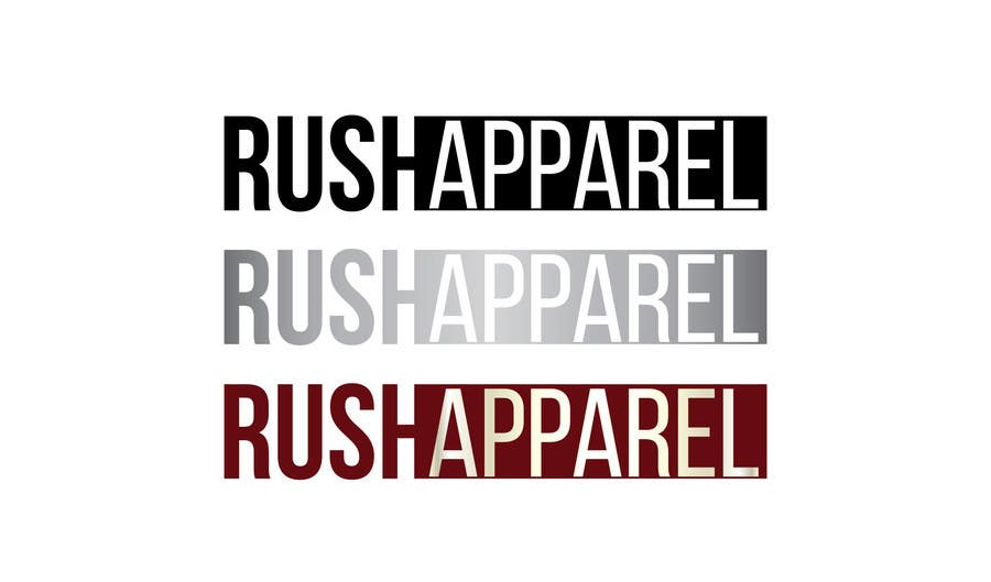 Proposition n°19 du concours Brand Logo for Rush Apparel